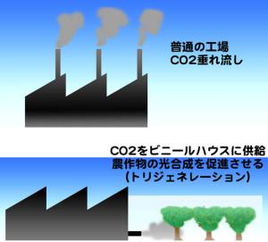 工場でのCO2利用
