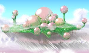 木星の浮遊大陸、生物型