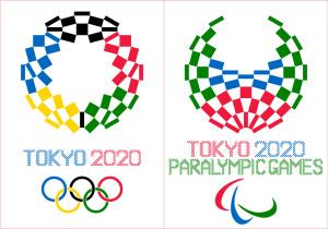 五輪エンブレム左右対称配色案